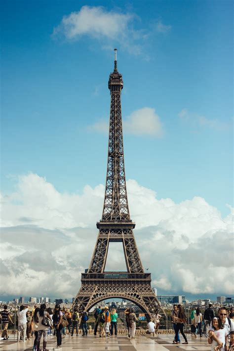 Picture of The Eiffel Tower Paris - Free Stock Photo